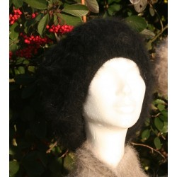 Bonnet Fleur Noir