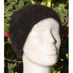 Bonnet mousse noir