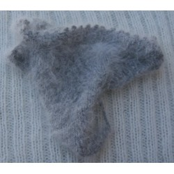 gris chiné 80% angora string
