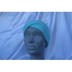 turquoise 80% angora Bandeau