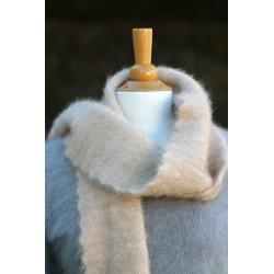 Echarpe fourrure camel 100%...