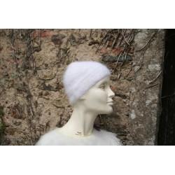 blanc 80% angora petit bonnet