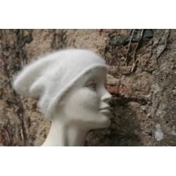 écru 80% angora   grand bonnet