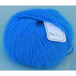 Bleu roy 100% angora B.109