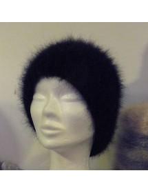 noir bonnet à côte