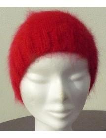 Bonnet jersey rubis 80% angora