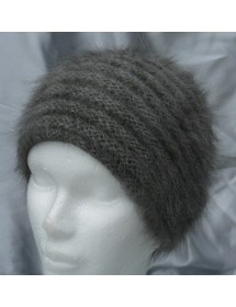 Mini Toque 100% angora