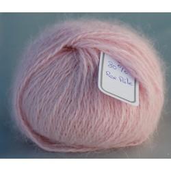 Rose pâle 80% angora B.109