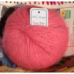 Skein 100% Angora Pale Pink