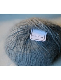 skein 100% angora Dark Grey