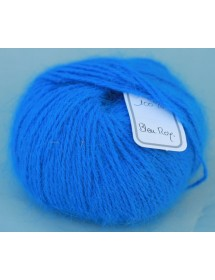 Skein 100% Angora Blue King