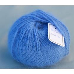 Bleu natier 80% angora B.919