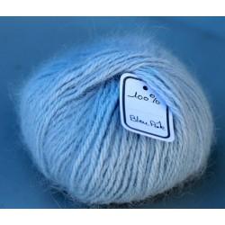 Bleu pâle 100% angora B.20-07