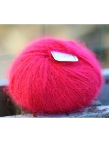 copy of Skein 100% angora Ruby