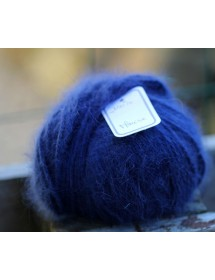 copy of Skein 100% angora Navy