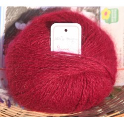 copy of Skein 100% angora plum