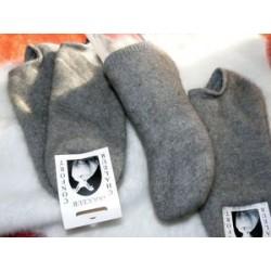 gris sans teinture chausson...