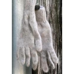 gris naturel 40% angora gants