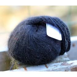 Noir 100% angora B.7