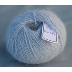 Bleu pâle 80% angora B.919