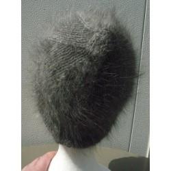 Bonnet vague anthracite