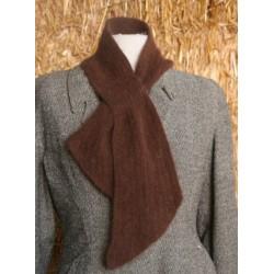 Echarpe cravate Chataigne