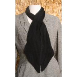 Echarpe cravate noir